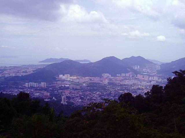 asiafreetravel21 View in George Town : A Wonderful Evening at Penang Hill