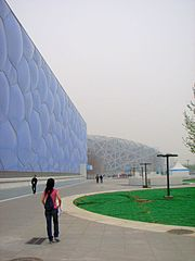 180px Beijing water cube Water Cube Olympic Swimming Pool Beijing Attraction