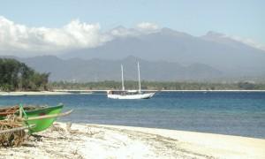 Gunung Rinjani from Gili Air 1 300x180 Different Kuta Best Destinations in Lombok