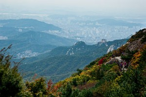 Seoul from Bukhansan 300x200 Visit N Seoul Tower, The Location of City Hunter, Boys Over Flowers, and Princess Hours