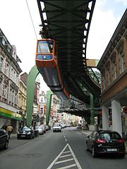 Wuppertal Schwebebahn April 2012 10 Traditional Uniquely Transportation in World