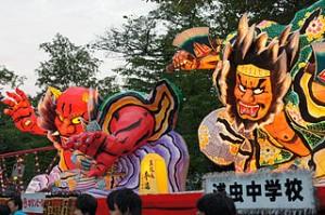 Asamushi Onsen Nebuta Matsuri Aomori Japan12n 300x199 Traditional Japanese Festival of Nebuta Matsuri