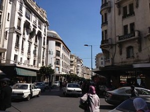 Avenue de Paris Casablanca 300x225 Travel Ideas Around The Maginicient and Beautiful of Casablanca