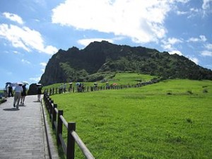 Jeju   Seongsan Ilchulbong 2 300x225 Visit N Seoul Tower, The Location of City Hunter, Boys Over Flowers, and Princess Hours