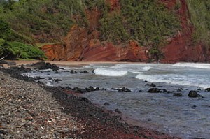 Kaihalulu Red Sand Beach 300x199 The Most Beautiful Beaches Panorama in The World