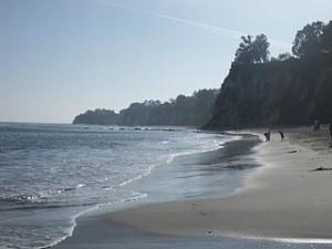 Malibu beach   February 300x225 Favorite Surfing at El Pescador State Beach