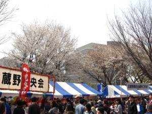 Musashino Sakura Festival 2007 300x225 Sakura Festival of Nagasaki Kunchi State