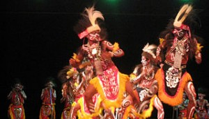 Papuan Dance from Yapen 300x172 Interesting Tradition in Indonesia That Will Make You Curious