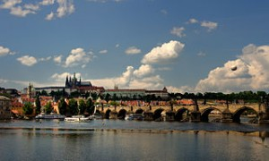 Prague Castle from Vltava bank 300x180 Must Visit Cities in The World for Romantic Dinner Ideas
