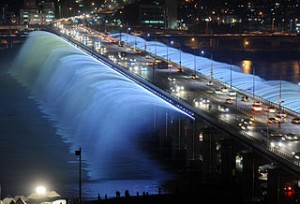 Rainbow fountain Seoul 300x204 Visit 10 Best Shooting Places for Popular Korean Drama and Movies