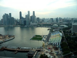 Singapore flyer view1 300x225 Admire Best City View From Singapore Flyer