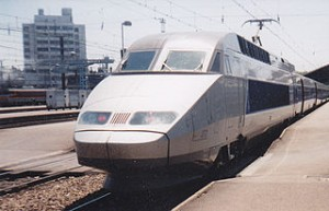 TGV train 300x193 Get Lourdes in Winter from South France by TGV Train