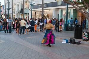 Third Street Promenade 5847769364 300x199 The Third Street Promenade, Santa Monica World Class Shopping Center
