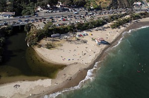 Topanga State Beach 2b 300x199 Relaxing Escape Ideas to The Calm of Topanga County Beach