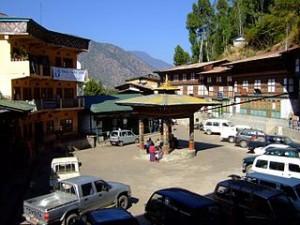 Trashigang upper market Bhutan 2008 01 02 300x225 Souvenirs Shopping in The Exotic Highest Mountain Market