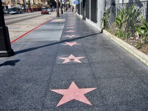 Walk of fame 300x225 Welcome to the Globe Star Award in Hollywood Walk of Fame