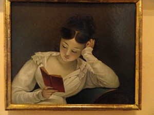 A Girl Reading by Berndt Abraham Godenhjelm 1830s   Cygnaeus Gallery   Helsinki   DSC05621 300x225 8 Cities With Most Lovely ladies in World