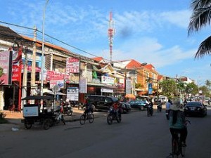 A part of Siem Reap 300x225 Welcome to Siem Reap, Gateway to The Grandeur of Angkor Wat