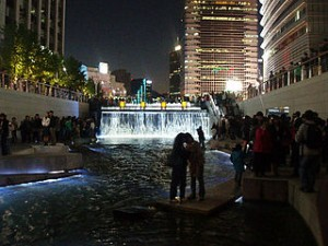 Cheonggye Plaza 300x225 Romantic Night Experience in Seoul, Just Like in Korean Drama
