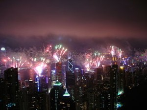 Firework in Hong Kong 5708 300x225 Enjoy Fireworks Festival in Tai Hang Hong Kong