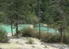Travel to Huanglong, Tourist Swimming Pool in 3 Colors