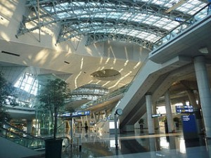 Incheon airport 300x225 The Most Awesome Travel Places in the Korea Tourism