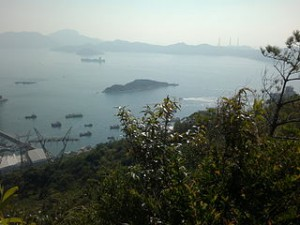 Magazine Island viewed from HK Trail 300x225 Fair Adventures in Lamma Island Family Trail