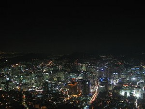 Seoul night lights 300x225 Nightlife Travel Around Seoul For See Fun Places Until Morning