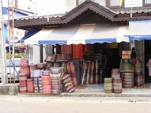 Thai cushions souvenir shop 300x225 Bring Home Most Wanted Thailand Souvenir