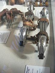 Deutsches Museum Verkehrszentrum   Luijt Wegeschlittschuhe um 1930 Favourite Shoe Lovers Museum