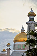 Golden Mosque Travel to Brunei, Check to Golden Dome Mosque