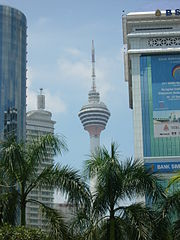 KL Tower Kualalumpur Malaysia 3 Cheap Travel Tour to the Place and Hotel in Kuala Lumpur