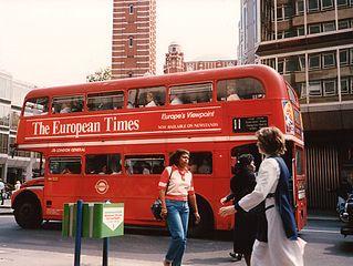 London Bus 1989 World Best City Transportation