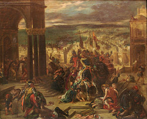 Louvre delacroix constantinople rf16591 Feel Middle Ages War in Constatinople