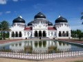 The Undestroyed Mosque by Tsunami in Aceh