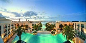 Palazzo Versace Gold Coast   Panoramic View 300x149 The Most Expensive Hotel Rate in Australia, The Versace Luxury Hotel