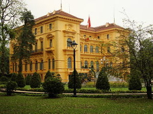 Presidential Palace of Vietnam 300x225 Best Online Travel Tourism Destinations in Vietnam