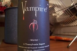 Vampire Wine 300x199 Real Vampire Museum in France