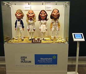 ABBA museet The Legendary Abba Museum in Stockholm