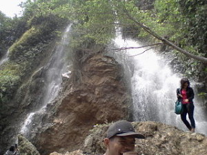 Air terjun Sri Gethuk Gunungkidul 300x225 Fun Sensation Trekking in Ancient Mountain