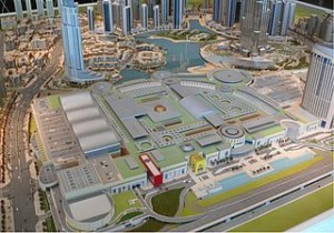 Dubai Downtown Model 300x210 The Worlds Largest Mall of Dubai