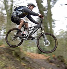 Mountain bike jump Getting Rid of Stress and Test Your Adrenaline With Mountain Bikes