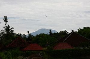 Agung from regent 300x199 Two in One Trekking of Mount Batur and Mount Agung