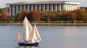 Autumn on Lake Burley Griffin 300x168 Celebrate Autumn in Canberra