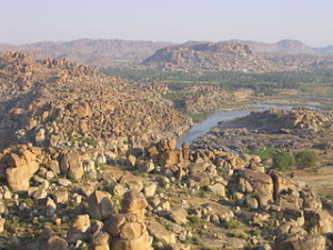Hampi 300x225 Hampi, Silence Rock Speaking