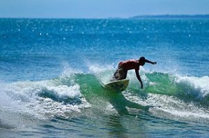 Kuta Indonesia Surfer 300x199 Fantastic Surfing in Bali