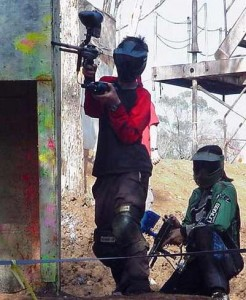 Paintball 2 players 246x300 Cool Playing Paint Ball in Bali
