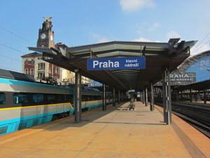 Prague Main Train Station 300x225 Special Train in Prague