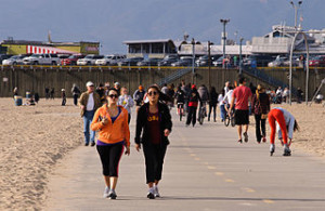 Santa Monica Beach 300x195 Jogging Around Bali
