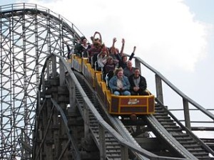 Colossos Heide Park Soltau Germany 300x225 Turtle and Tiger Roller Coaster in Germany